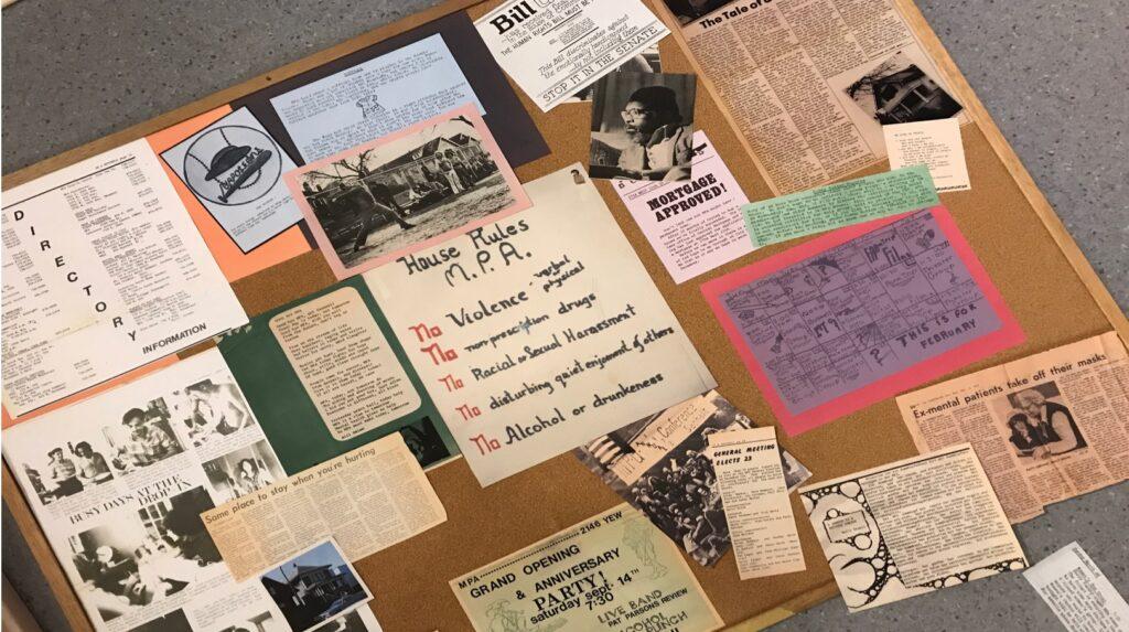 Imagined MPA Bulletin Board