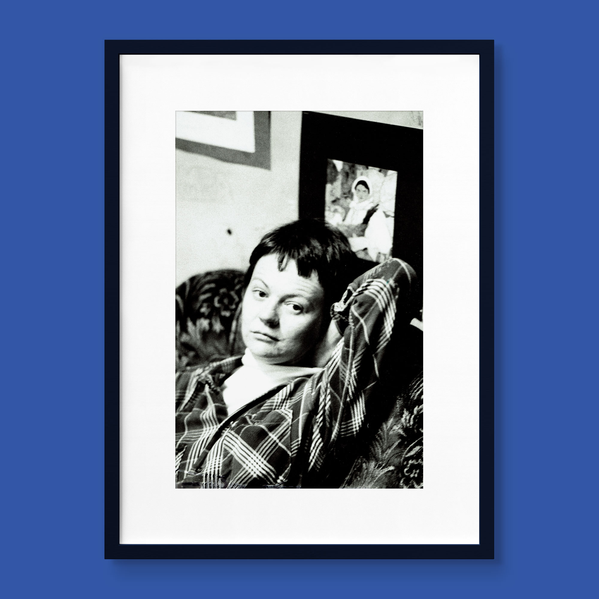 Face of MPA - framed portrait